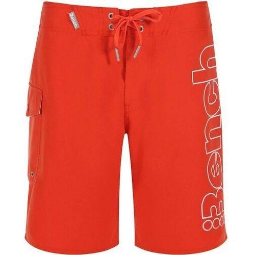 Kąpielówki, strój kąpielowy BENCH - Halkman Deep Orange (OR004) rozmiar: 33