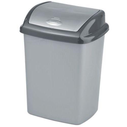 Kosze na śmieci, Plastikowy kosz uchylny DOMINIK 10l