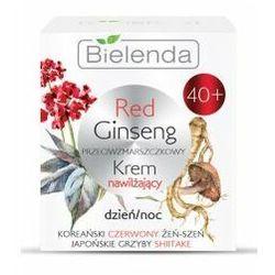 Bielenda Red Ginseng, przeciwzmarszczkowy krem nawilżający 40+, 50ml
