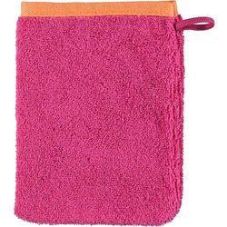 Rękawica kąpielowa code gładka 16 x 22 cm różowa