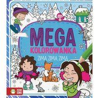 Kolorowanki, Megakolorowanka Zima zima zima - Zielona Sowa
