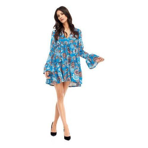 Suknie i sukienki, Sukienka Abigail w kwiaty