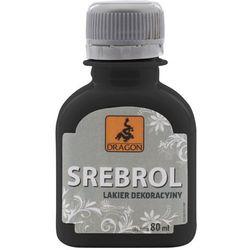 Lakier dekoracyjny Dragon Srebrol 80 ml