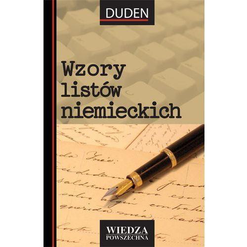 Biblioteka biznesu, Wzory listów niemieckich (opr. miękka)