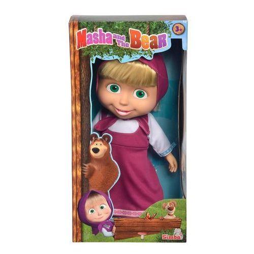 Lalki dla dzieci, Simba Masza i Niedźwiedź miękka lalka 40 cm
