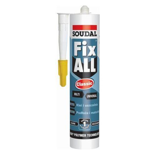 Kleje budowlane, Klej-uszczelniacz Soudal Fix All Classic 290 ml szary