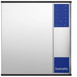 Łuskarka - wytwornica kostek lodu 136 kg/24 h, chłodzona wodą, 0,75 kW, 560x620x575 mm | ICEMATIC, M132W