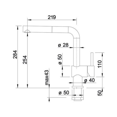 Baterie do kuchni, Bateria Blanco Linus 514024