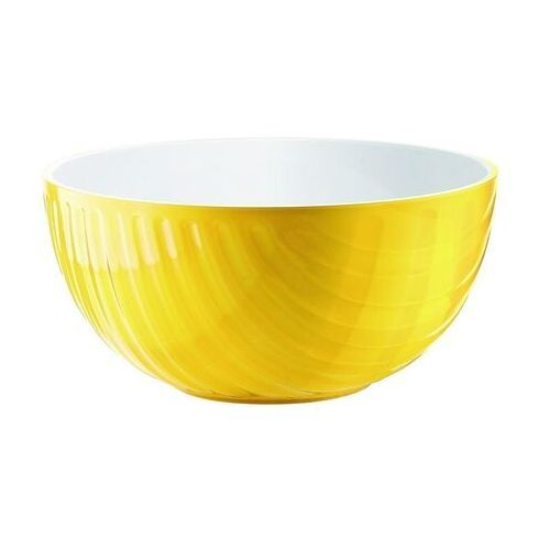 Misy i miski, Miska Mirage, średnica 25.00 cm, żółta - Ø 25.00 cm