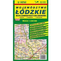 Województwo Łódzkie mapa administracyjno-drogowa 1:200 000