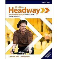 Książki do nauki języka, Headway 5E Pre-Interm SB B + online practice - Praca zbiorowa (opr. broszurowa)
