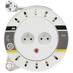 Przedłużacz bębnowy Diall 2 x 10 A 3 x 1 mm2 5 m