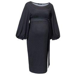 ubrania ciążowe Sukienka ciążowa Trili Druk Piękny Brzuszek