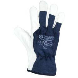 Rękawice robocze techniczne kozia skóra COLUMBIAN-T TOPER kategoria II