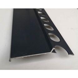 Profil aluminiowy balkonowy 85mm 2,5m - okapnik anodowany grafitowy RAL7016