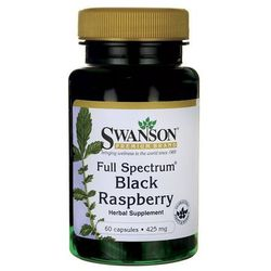 Swanson Full Spectrum Black Raspberry (Malina czarna) 425mg 60 kaps.