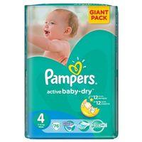 Pieluchy jednorazowe, Pampers Active Baby - Dry Pieluchy rozmiar 4 maxi 76 szt.