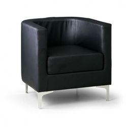 Fotel Semi, czarny