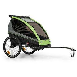 KLARFIT Kiddy King, przyczepka rowerowa dla dzieci, jogger, 2-osobowa, 40 kg