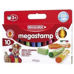 Fibracolor - Mazaki pieczątki Megastamp 10 kolorów 04522