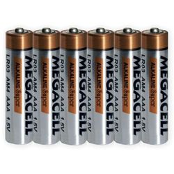 48 x bateria alkaliczna Megacell LR03 AAA