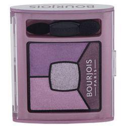 BOURJOIS Paris Smoky Stories Quad Eyeshadow Palette cienie do oczu 3,2 g dla kobiet 07 In Mauve Again