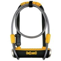 Zabezpieczenia do roweru, Zapiecie U-lock Onguard Pitbull DT 8005 z linką