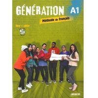 Książki do nauki języka, Generation A1 Poodręcznik + CD mp3 + DVD (opr. miękka)