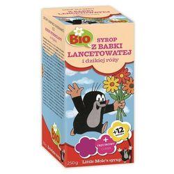Syrop dla dzieci z babki lancetowatej i dzikiej róży BIO 250g Apotheke