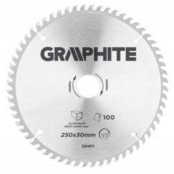Tarcza do cięcia GRAPHITE 55H611 250 x 30 mm do pilarki widiowa + DARMOWY TRANSPORT!