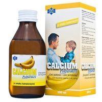 Witaminy i minerały, CALCIUM syrop 150ml - bananowy