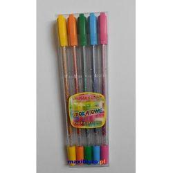 Długopis żelowy Rystor brokatowe GZ-031 5kol.