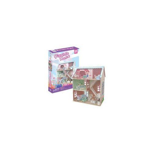 Domki dla lalek, Puzzle 3D Pianist's Home Domek dla lalek