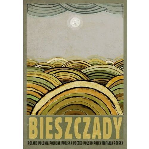 Plakaty, Plakat Bieszczady - Ryszard Kaja