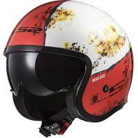 Kaski motocyklowe, KASK LS2 OF599 SPITFIRE RUST WHITE RED