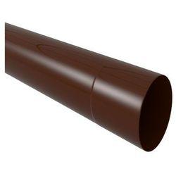 Rura spustowa 80 mm Brązowa 2 m SCALA PLASTICS