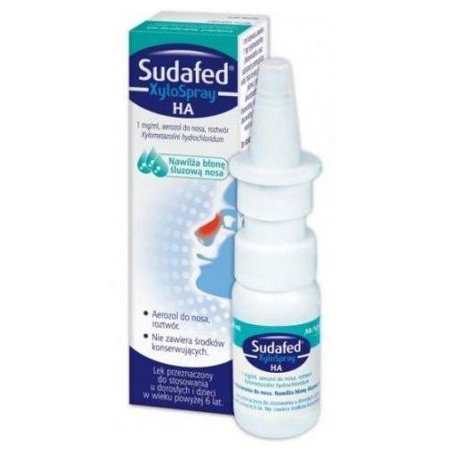 Preparaty do nosa, SUDAFED XyloSpray HA spray do nosa 10ml