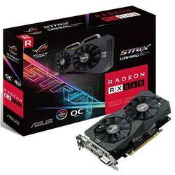 Karta graficzna Asus Radeon RX 560 ROG STRIX O4G Gaming 4GB GDDR5 (128 bit), DVI-D, HDMI, DisplayPort, BOX (ROG-STRIX-RX560-O4G-GAMING) Darmowy odbiór w 21 miastach!