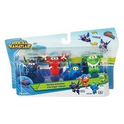 Super Wings Zestaw 4 figurek 4