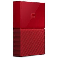 """WD My Passport 2TB 2,5"""" USB 3.0 (czerwony) - produkt w magazynie - szybka wysyłka!"""