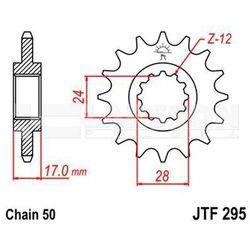 Zębatka przednia JT F295-15, 15Z, rozmiar 530 2200450 Honda CBR 600