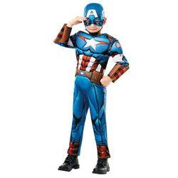 Kostium Kapitan Ameryka Deluxe dla chłopca - Roz. S Amerykańska (-20%)
