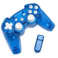 Gamepady, Kontroler bezprzewodowy PDP 6432EU-BL Rock Candy Blueberry Boom do PS3