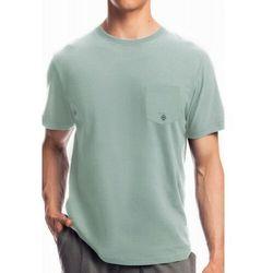 Męska koszulka do piżamy krótki rękaw Atlantic NMT 050 zielona