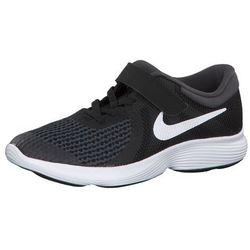 NIKE Buty sportowe 'Revolution 4' czarny / biały