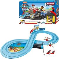 Tory wyścigowe dla dzieci, Carrera Tor wyścigowy First na baterie Psi Patrol On the Truck 2,4m - DARMOWA DOSTAWA OD 250 ZŁ!!