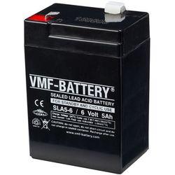 VMF AGM Akumulator 6 V 5 Ah SLA5-6 Darmowa wysyłka i zwroty