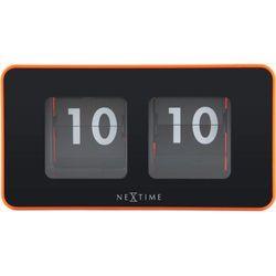 Nextime:: Zegar Stojący Flipped Pomarańczowy