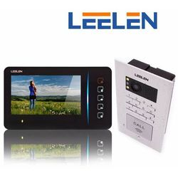 Leelen LEELEN Wideodomofon - 7cali N60/No18pc/DIN z szyfratorem N60_No18pc_18VDCDIN - Autoryzowany partner Leelen, Automatyczne rabaty.