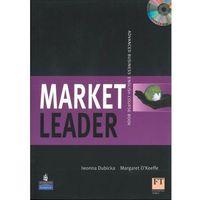 Książki do nauki języka, Market leader advanced Course book + Cd (opr. broszurowa)
